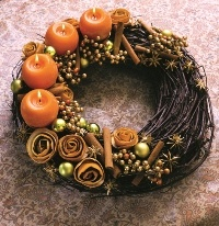 Praktika.hu (hungarian website) - wreath with spices