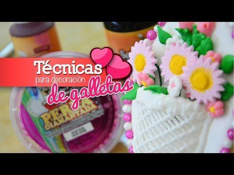 Gelatina Floral Pecera de Claveles, Paso a paso con Gubia agujas - YouTube