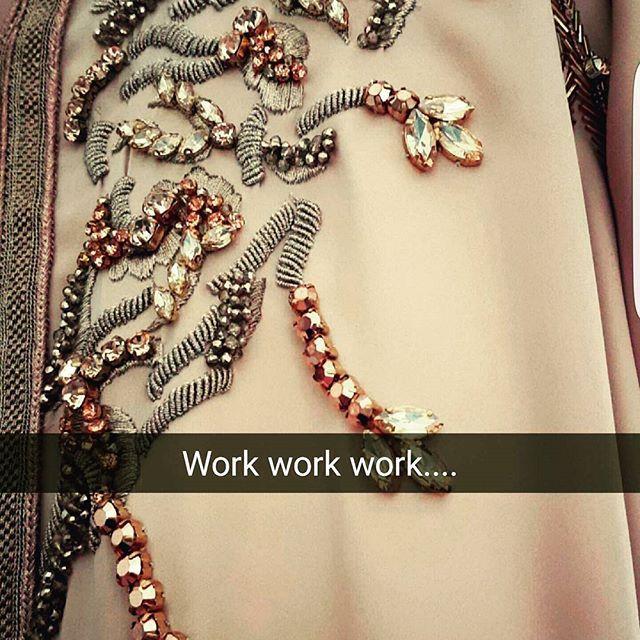 #work#embroidery#handmade#bronze#rosegold#creation#details#design#caftan #fes#Morrocco