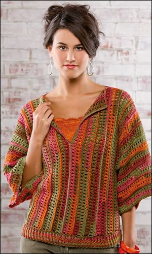 """Camille Top"" Crochet Pattern - Crochet! Magazine  Note to self: bought the magazine and downloaded the digital edition"