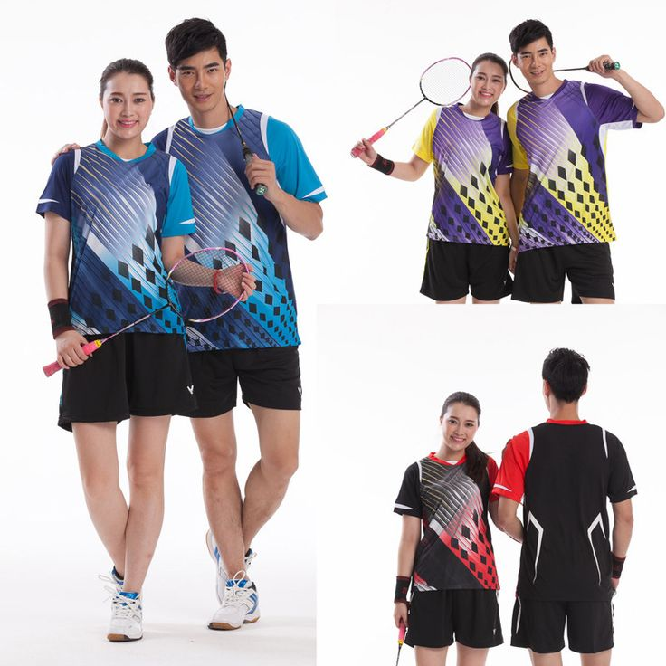 Brand V. Badminton Set ( Tshirt + Shorts) Quick Dry South Korea Team Sportswear Badminton clothes 36107 35107  //Price: $US $25.52 & FREE Shipping //     #fans #play #playing #player #field #green #grass #score   #goal #action #kick #throw #pass #win #winning