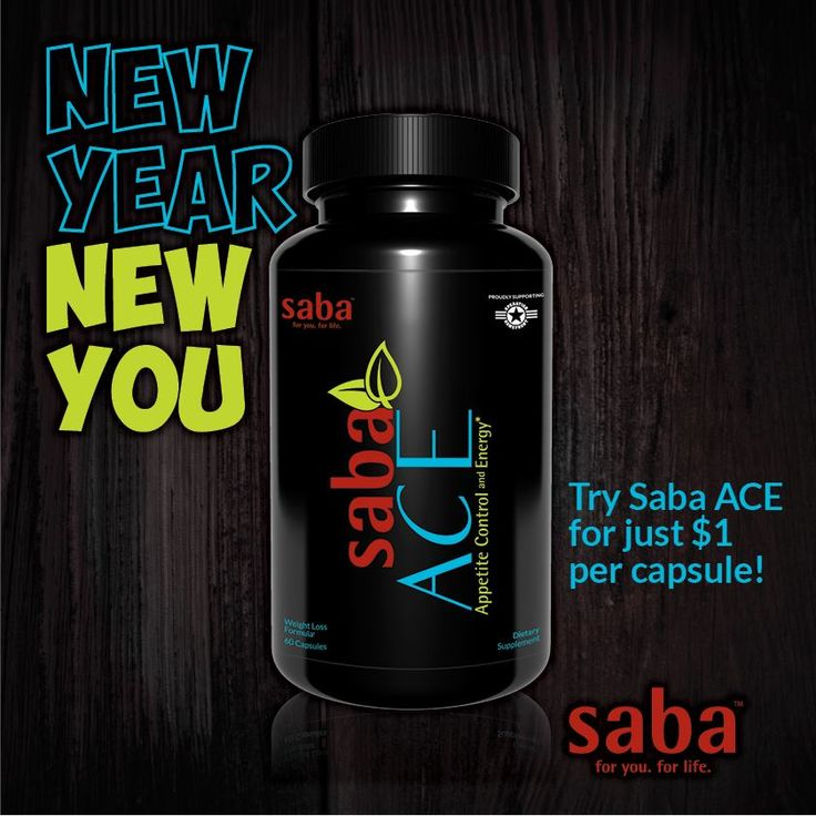 More information about Saba ACE!  http://appetitecontrolpills.sababuilder.com/go/bus-ace  You can order Saba ACE for $1 per pill with Free Shipping here (one-time order): http://aceappetitecontrolenergy.com/  OR become a Preferred Customer and get all of the fabulous Saba Products at Wholesale Cost! Free Bling Water Bottle! Only $59 +sh/tx http://appetitecontrolpills.sababuilder.com/go/bus-getstarted