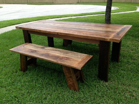 75 best Reclaimed Wood Art and Furniture images on  : a65f7d14383ad697575ede566a391d95 oak dining sets reclaimed wood tables from www.pinterest.com size 570 x 428 jpeg 58kB
