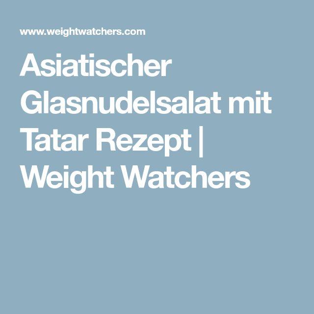 Asiatischer Glasnudelsalat mit Tatar Rezept | Weight Watchers