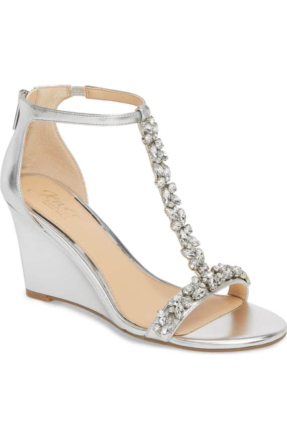 e2535c8c6b92 Jewel Badgley Mischka Meryl Wedge Sandal (Women)
