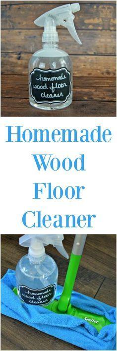 easy homemade wood floor cleaner