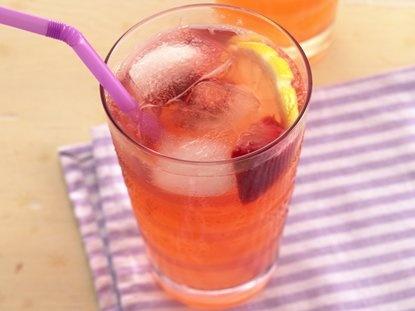 Ponche de Limón y Fresa