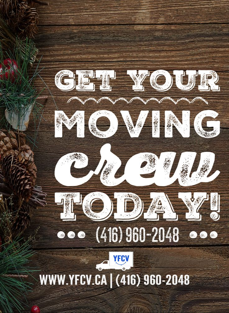Get your #Moving Crew today! Your Friend with a Cube Van 416-960-2048 #YFCV #TorontoMovers www.yfcv.ca #Move #Packing 381 Dundas St E, Toronto, ON M5A 2A6