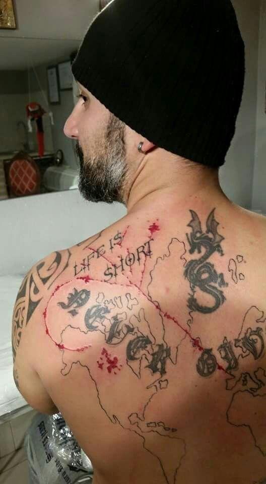 Trash Polka Tattoo