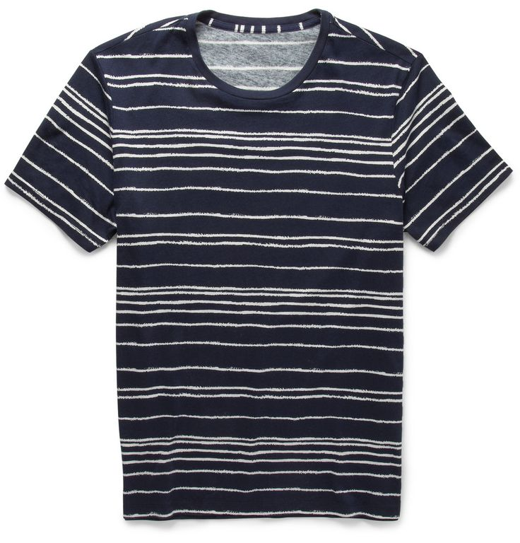 http://www.mrporter.com/en-us/mens/club_monaco/striped-cotton-t-shirt/532610