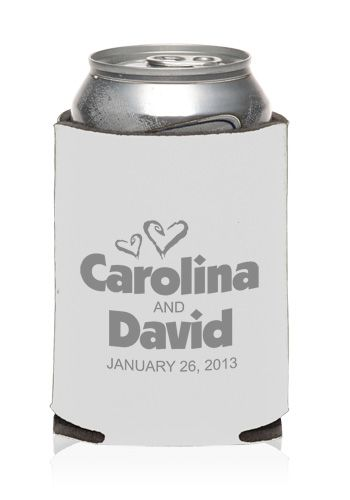 Promotional Collapsible Wedding Can Cooler | KZW126 - Discount Mugs