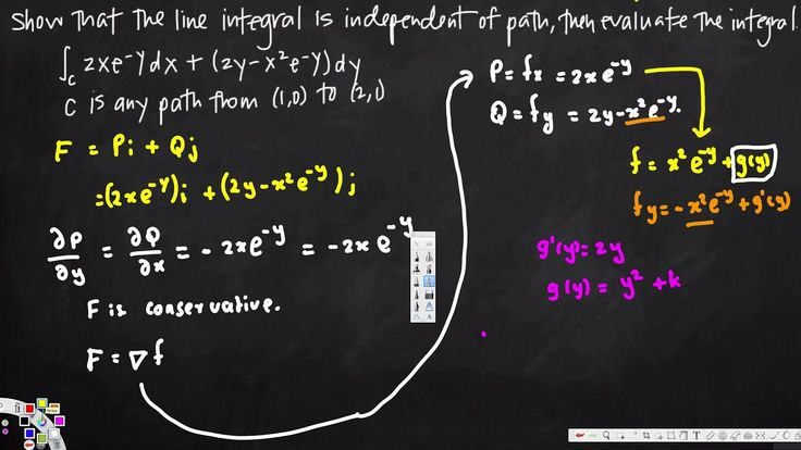 independence of path  - Vector Calculus