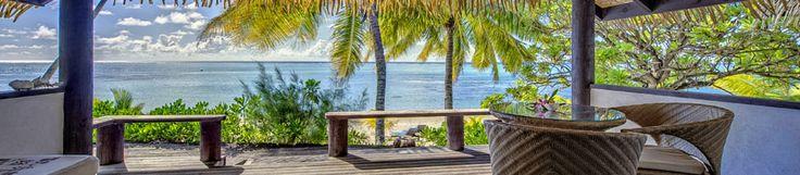 Tamanu Beach Resort, Aitutaki, Cook Islands Accommodation.