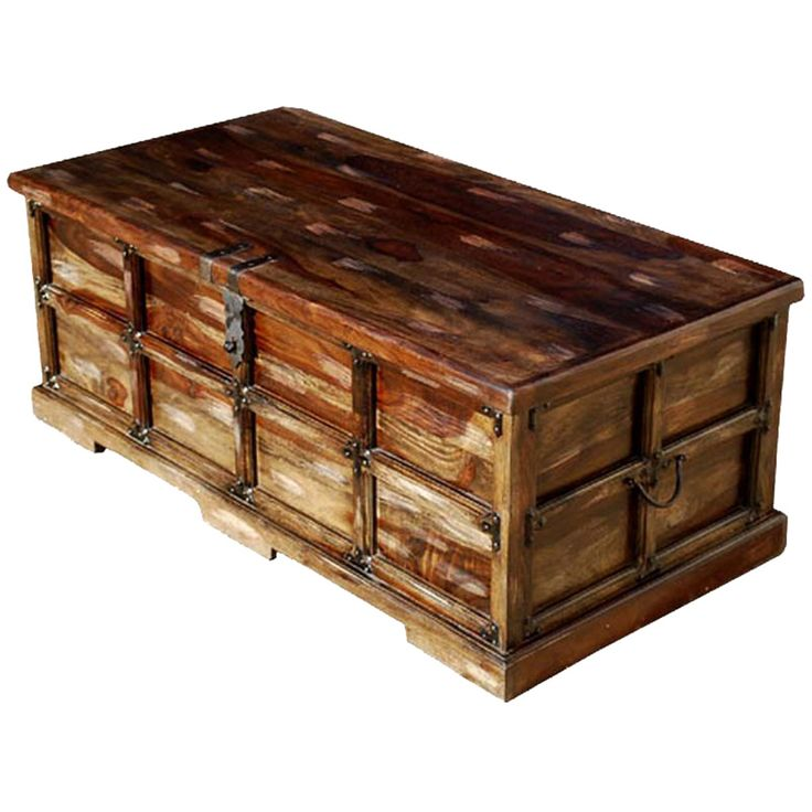 20 Rustic Chest Coffee Table - Furniture for Home Office Check more at http://www.buzzfolders.com/rustic-chest-coffee-table/