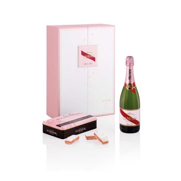 G.H.Mumm Légende de Rosé Fossier Biscuit Rose de Reims Champagne