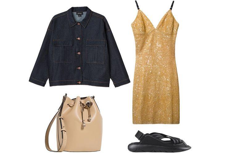 С чем носить платья-комбинации: 8 модных образов — Wonderzine — Wonderzine