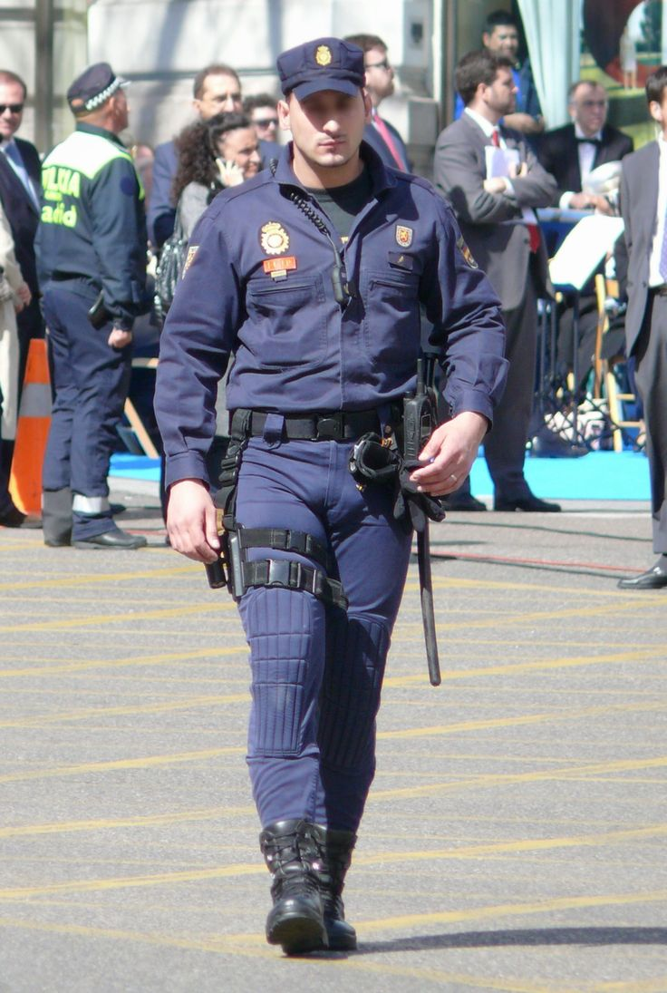 Police officer cock