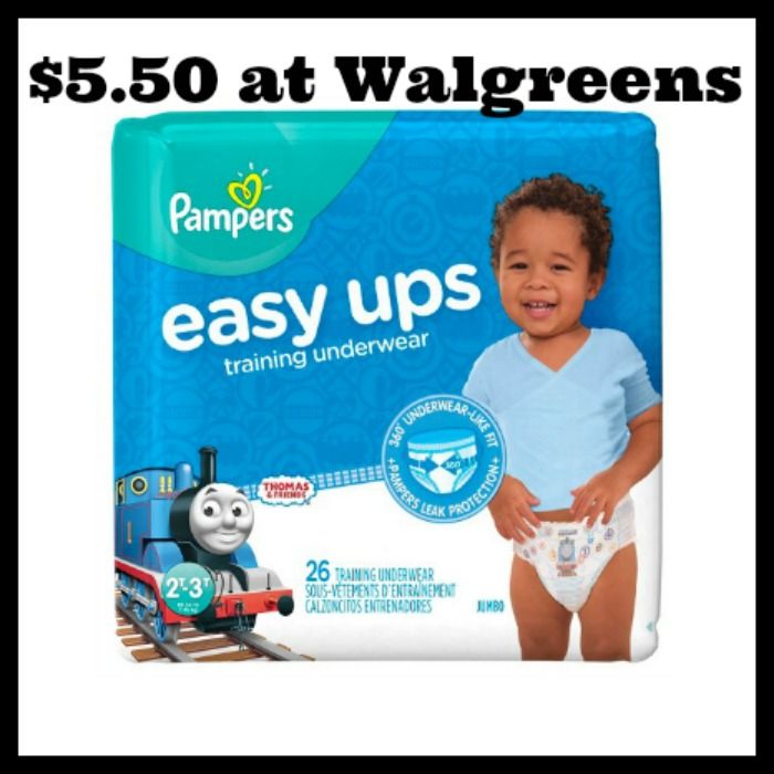 Walgreens - Pampers Easy Ups Jumbo Packs only $5.50! - http://dealmama.com/2017/06/walgreens-pampers-easy-ups-jumbo-packs-5-50/