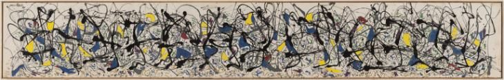 Jackson Pollock 'Summertime: Number 9A', 1948 © Pollock - Krasner Foundation, Inc.