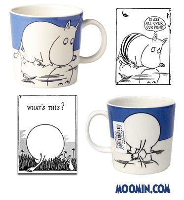 Tove Slotte (b. 1957) has illustrated Arabia's Moomin products since the early 90s based on the original drawings by Tove...