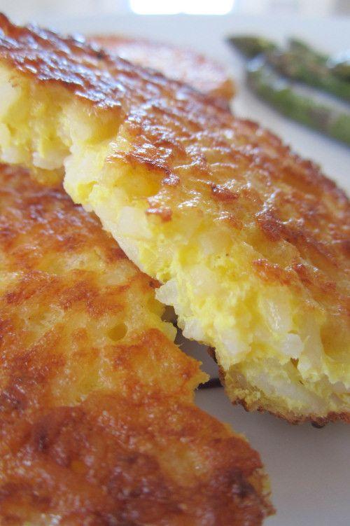 Petites galettes de riz-Kiri :D Un plat savoureux pour toute la famille ! #kiri #recette #riz #plat #kids #food #yummy #recipe #cream #cheese #fromage
