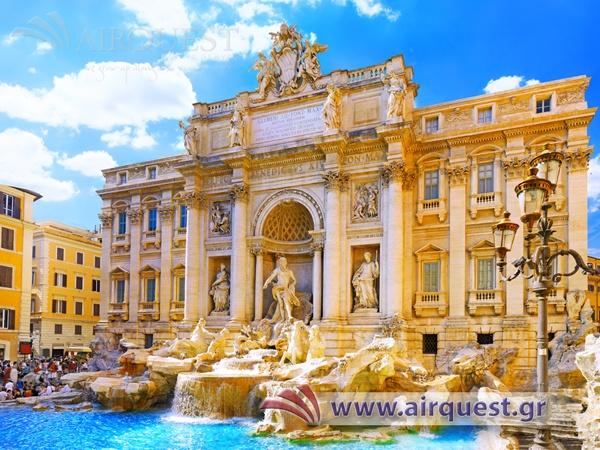 Ιταλία -Ρώμη (Fontana di Trevi)