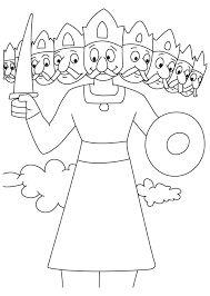 Image result for ravan kumbhkaran sketches for kids