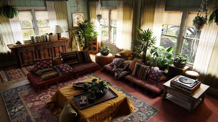 Uncharted 4 living room