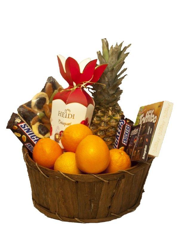 Cos fructe cu ciocolata Heidi Oricare ar fi starea ta de peste zi, ea se poate imbunatati cu acest cos cu fructe si ciocolata.