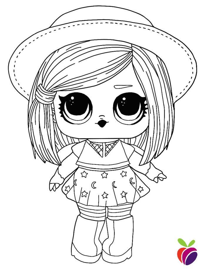 L.O.L. Surprise Hairgoals Series Dolls Coloring Pages. Free Printable Pages  For Kids. Free Kids Coloring Pages, Free Coloring Pages, Cool Coloring  Pages