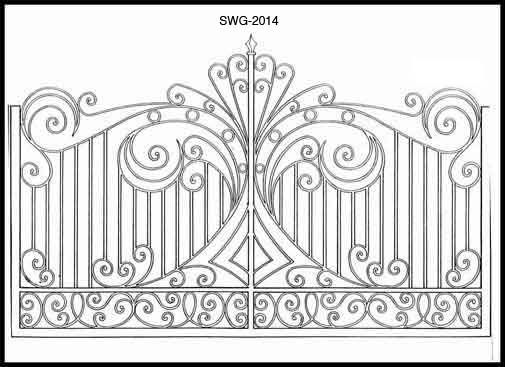 Ideas about iron gate design on pinterest