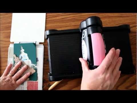 Video on Tips For Cutting Intricate Dies for scrapbooking!