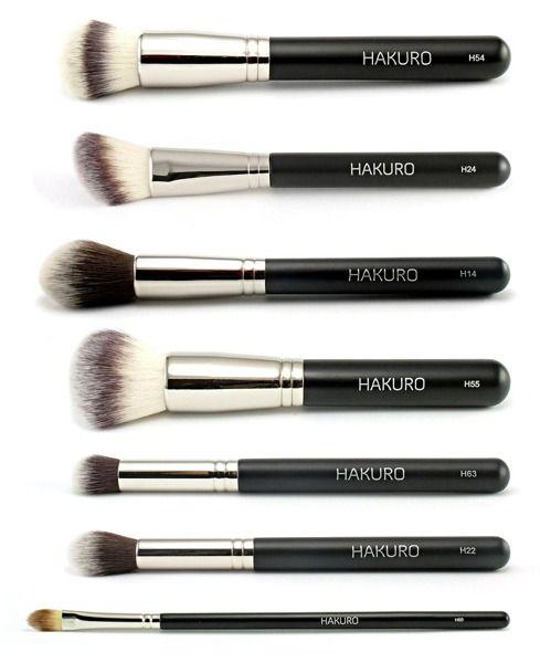 Zestaw zaawansowany do makijażu twarzy | Zestawy pędzli HAKURO | Oficjalny sklep HAKURO