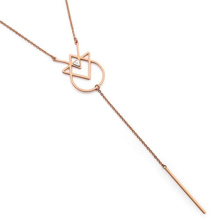 Pastiche - Breaking Dawn Howlite Necklace (J901whrg_70)
