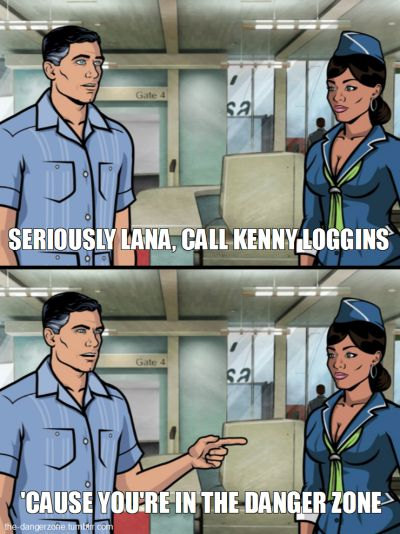 """And of course, when he started this amazing running gag. 