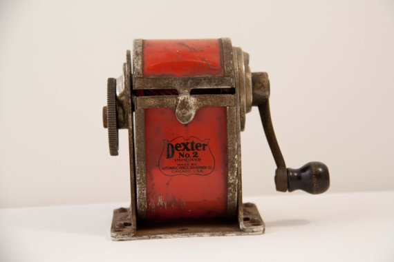 vintage standard pencil sharpener