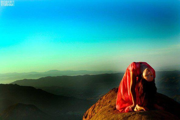 This is one of the most beautiful photos I've ever seen. By Robert Sturman, from Turning Yoga Into Art - NYTimes.com