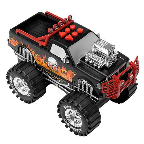 "Fast Lane Light & Sounds Monster Truck - Black -  Toys R Us - Toys""R""Us"