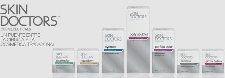 Skin Doctors Cosmeceuticals es una marca líder en el desarrollo de tecnologías innovadoras que ofrecen al consumidor  una alternativa a la cirugía y que ayudan a cambiar la percepción que el consumidor tiene de la cosmética y los resultados que de ella se derivan.