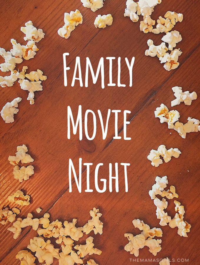 Friday Night Movie Night -http://themamasgirls.com/friday-night-movie-night/
