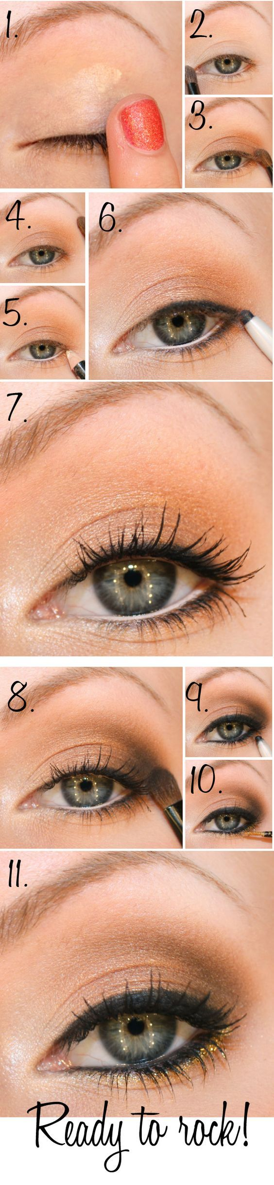 Top 12 Naked Eye Makeup Tutorial – Best Famous Fashion Design Trick & Look Idea - Way To Be Happy (6)
