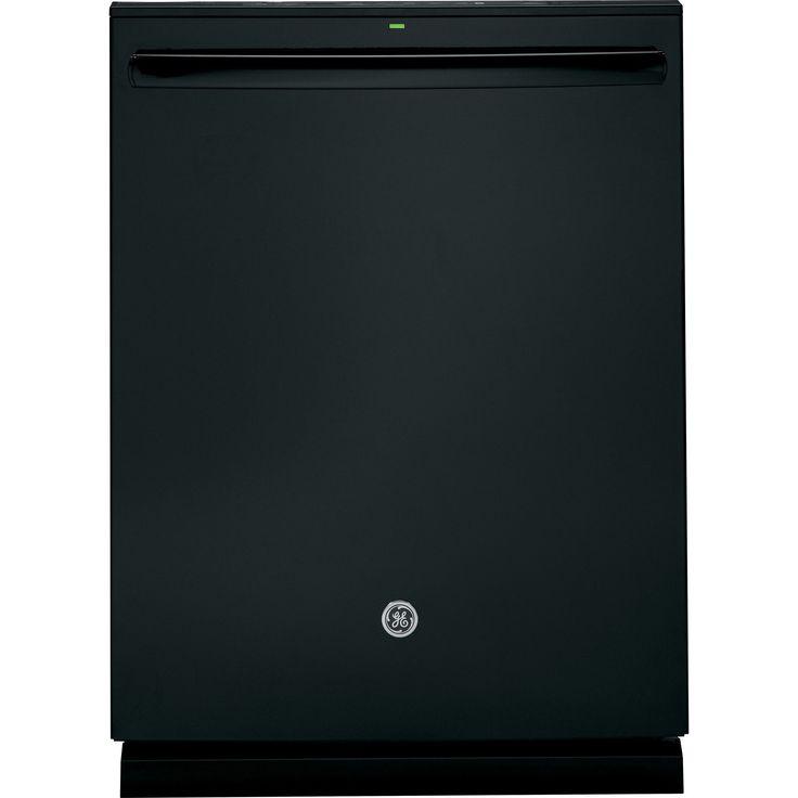 GE Fully Integrated Dishwasher (Black) (Plastic)