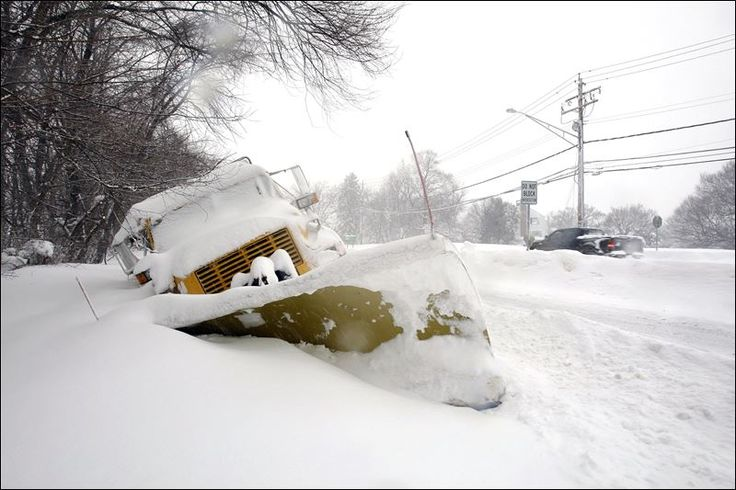 As Crews Scurried To Clear Roads A State Plow Ended Up In A Snow