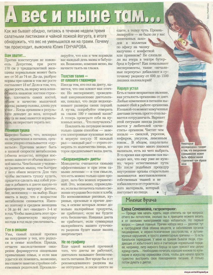 Причины Чтобы Похудеть. 100 причин похудеть