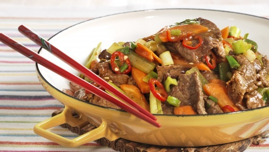 Thai biffsalat
