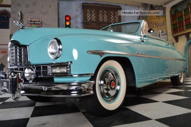 1950s cars with names 1950 cadillac packard super deluxe convertible cabriolet roadster. Black Bedroom Furniture Sets. Home Design Ideas