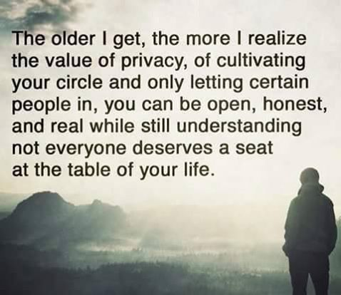 So True! Not everyone cares and not everyone is truly your friend..Be selective, Be Kind, Be Humble, Be honest and true to yourself..