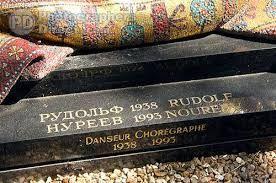 Image result for nureyev grave