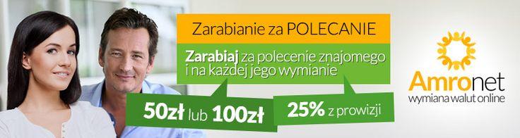 Amronet.pl Zarabianie za polecania