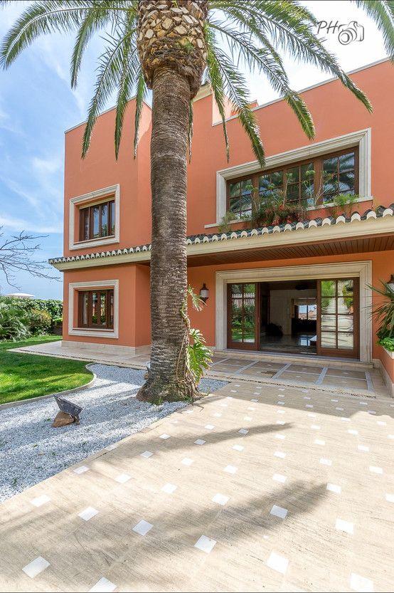 Villa de lujo en Málaga con toques tropicales de Hansen Properties I homify